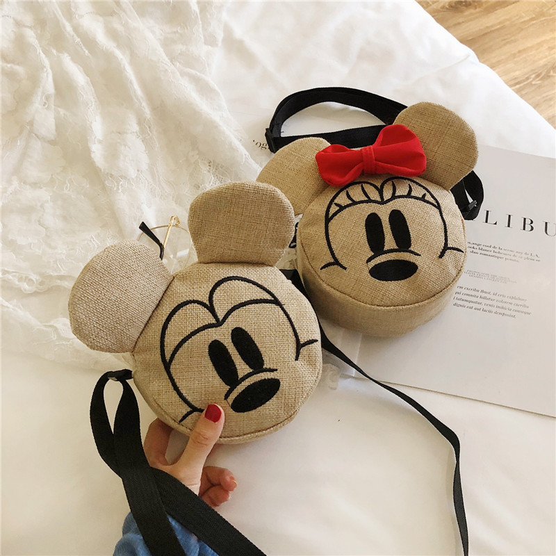 New Style Children's Bag Men And Women Children Crossbody Bag Korean-style Versatile Western Style Mini Baby Cute Straw Purse