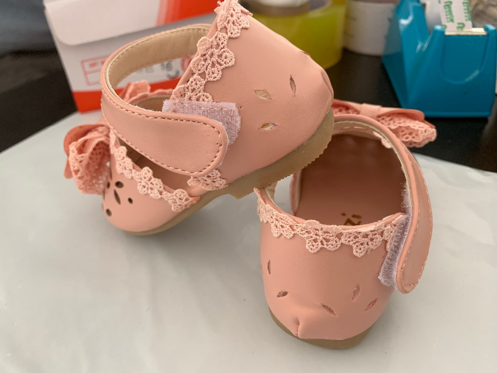 H71a65904c38f4a439fbb54a8c48e49630 - Newest Summer Kids Shoes Fashion Leathers Sweet Children Sandals For Girls Toddler Baby Breathable Hoolow Out Bow Shoes