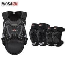 WOSAWE 오토바이 갑옷 등 보호대 성인 남성 척추 보호 MTB Motocross Racing Body Protective Vest Jacket