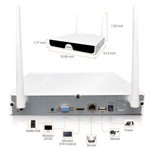 Image 3 - 8CH CCTV מערכת P2P אלחוטי 1296P HD NVR עם HD 3.0MP חיצוני אינפרא אדום עמיד למים Wifi אבטחת מצלמה מערכת מעקב ערכת