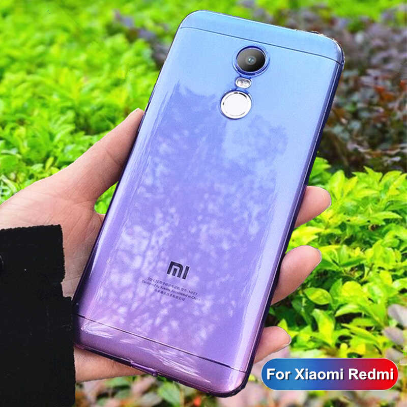 Màu Ốp Lưng Điện Thoại Xiaomi Redmi Note 7 8 6 5 Pro Mềm Bao Da Dành Cho Redmi 6 6A 7 7A 5 Plus K20 Pro Chất Lượng Cao Chống Sốc Các Quỹ