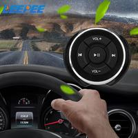 Control remoto inalámbrico por Bluetooth Para volante de coche, botones de volumen multimedia para motocicleta y bicicleta, para IOS, Android, tableta y teléfono