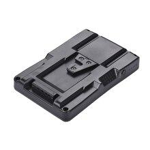 F2 BP NP F Pin V Gắn Pin Adapter Chuyển Đổi Đĩa Phù Hợp Với F970 F750 F550 Cho Canon 5D2 5D3 DSLR camera LED Màn Hình