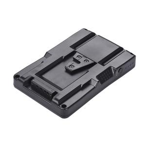 Image 1 - F2 BP NP F batterie à v mount batterie convertisseur adaptateur plaque Fit F970 F750 F550 pour Canon 5D2 5D3 DSLR caméra lumière LED moniteur