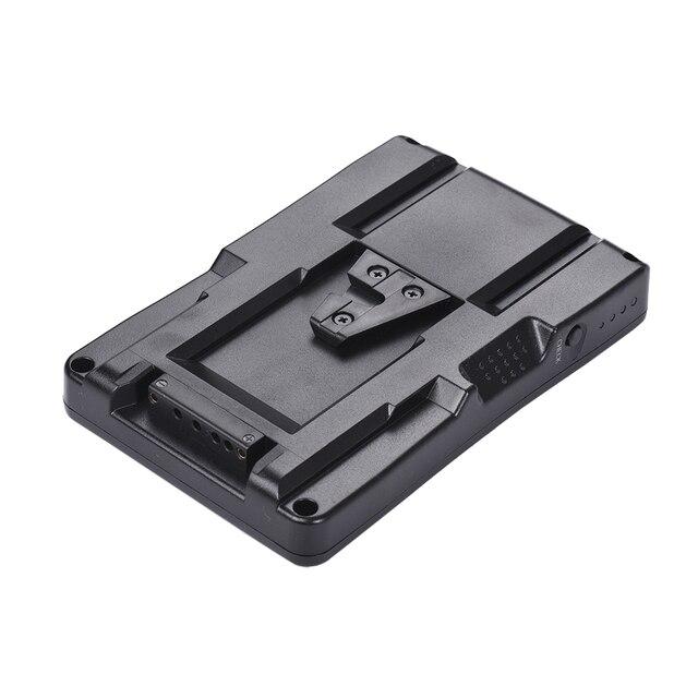 F2 BP NP F batterie à v mount batterie convertisseur adaptateur plaque Fit F970 F750 F550 pour Canon 5D2 5D3 DSLR caméra lumière LED moniteur