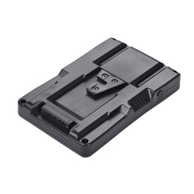 F2 BP NP F pil v mount pil dönüştürücü adaptör plakası Fit F970 F750 F550 Canon 5D2 5D3 DSLR kamera LED ışık monitörü