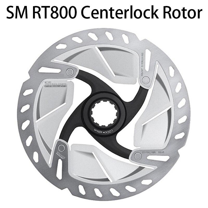1 Pair SM RT800 Ice-Tech Freeza Disc Centerlock RT800 ROTOR For Road Bike 140mm / 160mm UT  R8020/R8070