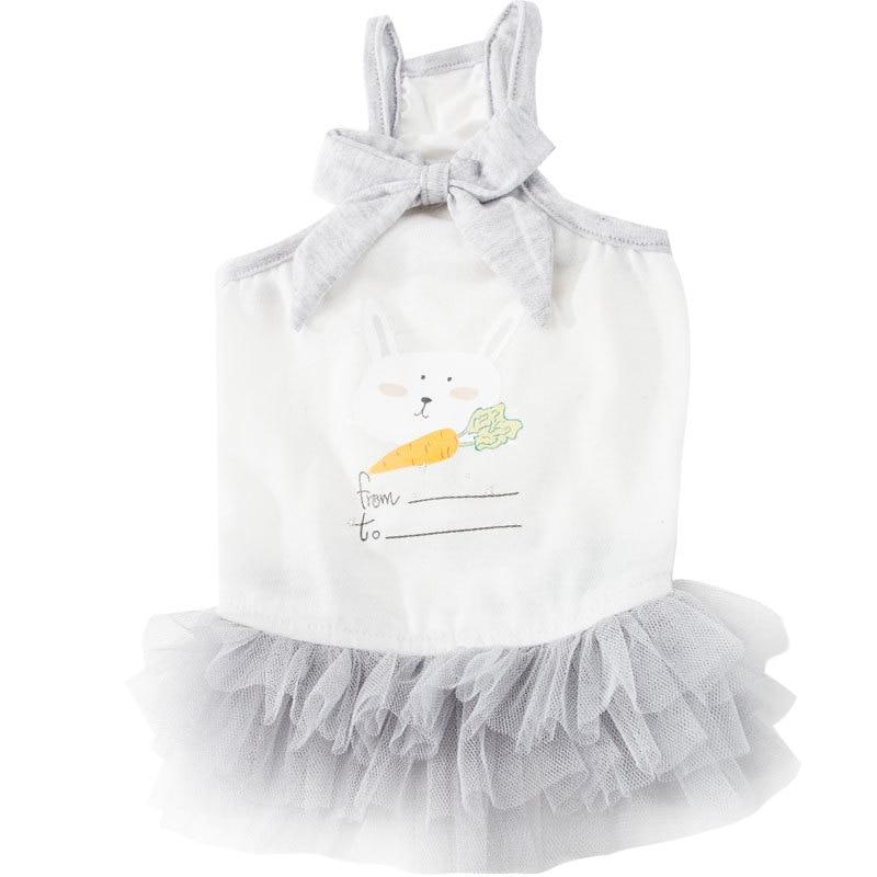 Sling Dress Dog Summer Pet Skirt Cotton Cute Princess Personalized Teddy