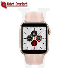 Smartwatch IWO13 T500 seria 5 połączenie Bluetooth 44mm inteligentny zegarek pulsometr ciśnienie krwi dla IOS Android PK IWO 12 IWO 8 tanie tanio ONEVAN Brak Na nadgarstku Wszystko kompatybilny 128 MB Passometer Fitness tracker Uśpienia tracker Wiadomość przypomnienie
