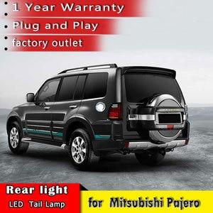 Image 5 - New Car Styling For Mitsubishi Pajero V93 V97 2007 2019 Tail Brake Light Rear Turn Signal Lamp car accessories