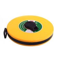 10/20/30/50/100m mão disco régua carpinteiro medidor de medição métrica fita ferramenta medição jdh99