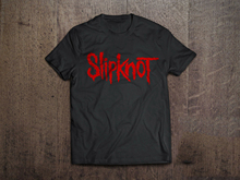 NEW! SLIPKNOT PUNK ROCK T SHIRT MENS SIZES Black T-Shirt Size S-3xl 3