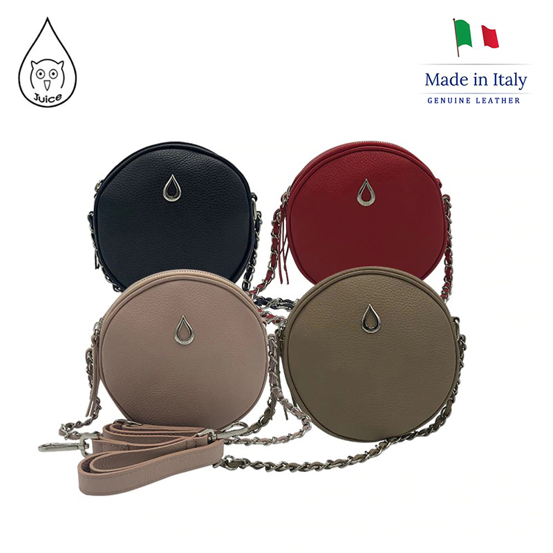 JUICE ,made In Italy, Genuine Leather, Women Bag,Women Small Handbag 112807