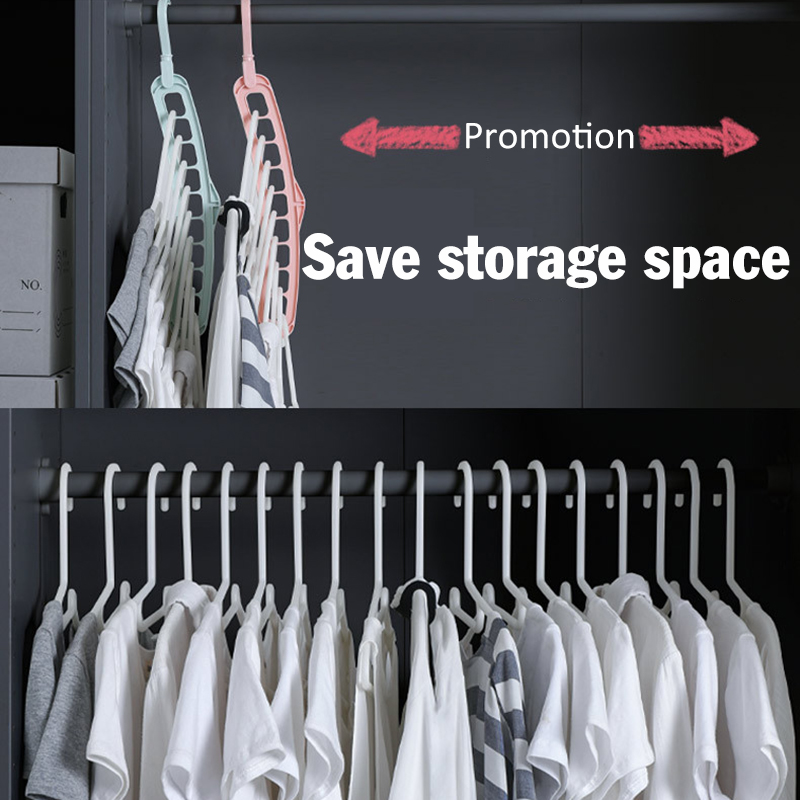 Hot Sale Clothes Coat Hangers Organizer Plastic Multifunction Clothes Hangers Baby Clothes Drying Racks Storage Rack Hangers