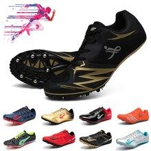 Спортивная и полевая обувь для мужчин, шипы, спортивная обувь для женщин, легкие удобные кроссовки для бега с гвоздями, мужская спортивная обувь для тренировок