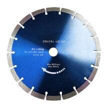 Диск для алмазной резки бетона, высота 12 мм, 1 * алмазный режущий диск для угловой шлифовальной машины, 230