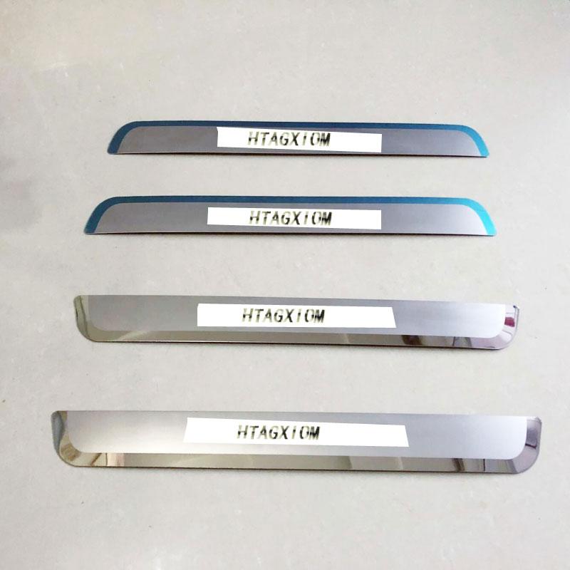 VAUXHALL ZAFIRA C Tourer Rear Bumper Chrome Protector Stainless Steel 11/> OPEL