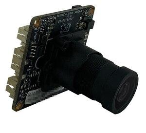 Image 2 - F1.0 m16 lente starlight baixa iluminação sony imx335 + hi3516ev300 5mp 2592*1944 h.265 650nm toda a cor com radiador onvif cms