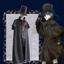 Anime Black Butler Cosplay Costumes Ciel Phantomhive Costume Uniforms Halloween Party Game Kuroshitsuji
