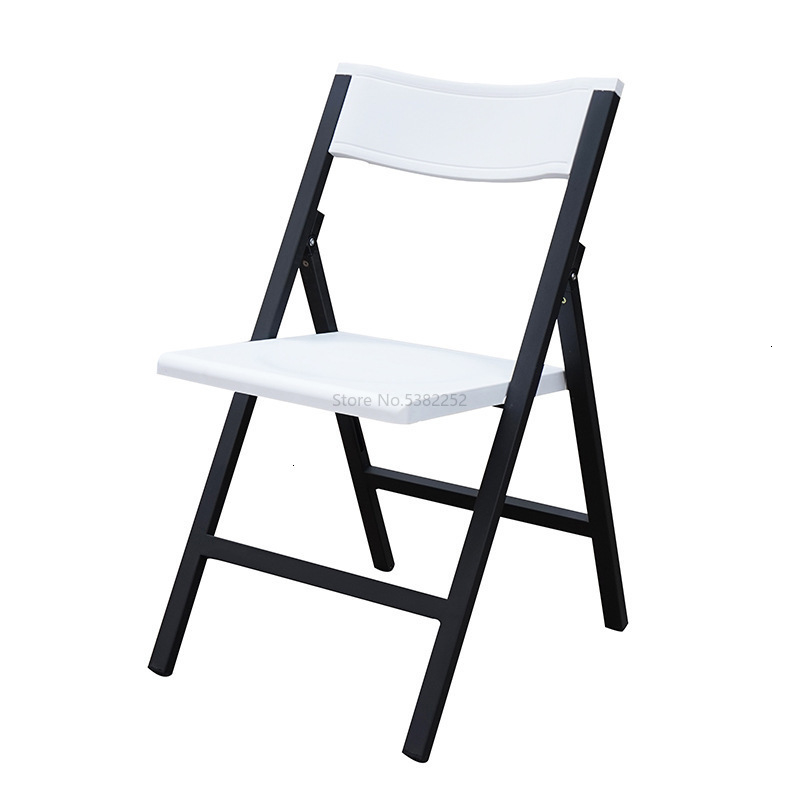 Chair Thickening Overstriking Steel Frame High Quality Pp Increase Fine Brand New Material Nothing Handrail Fold Train Chair