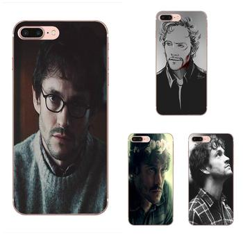 Soft TPU Patterns For Huawei Honor 10 10i 20 20i 8S lite Y9 Prime Y7 2019 Y5 2018 p40 lite pro Clock Hannibal Will Graham Quote image