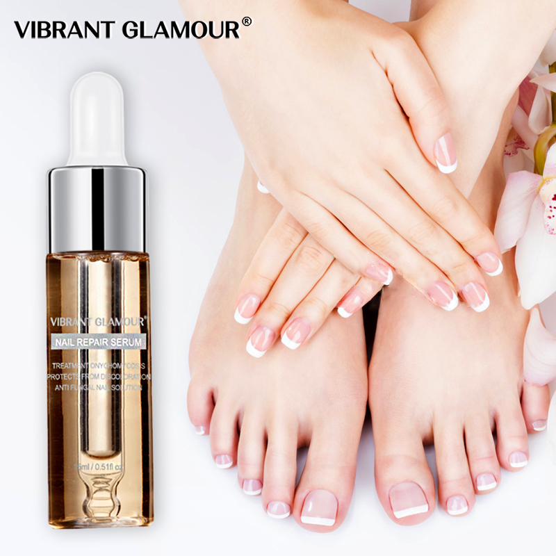 VIBRANT GLAMOUR Nail Repair Serum Nail Treatment Essence Fungus Onychomycosis Removal Anti Fungus Nail Toe Nourishing Nail Care