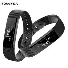 TONGYDA Pedometer Smart Wristband Smart Bluetooth Sports Bracelet Heart Rate Monitor Fitness Tracker Fitness Smart Band