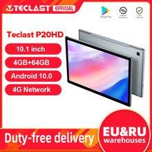 Teclast – tablette PC de 10.1 pouces P20HD, avec Android 10, 4G LTE, 4 go de RAM, 64 go de ROM, 1920x1200, Octa Core, GPS, SC9863A, dernière version
