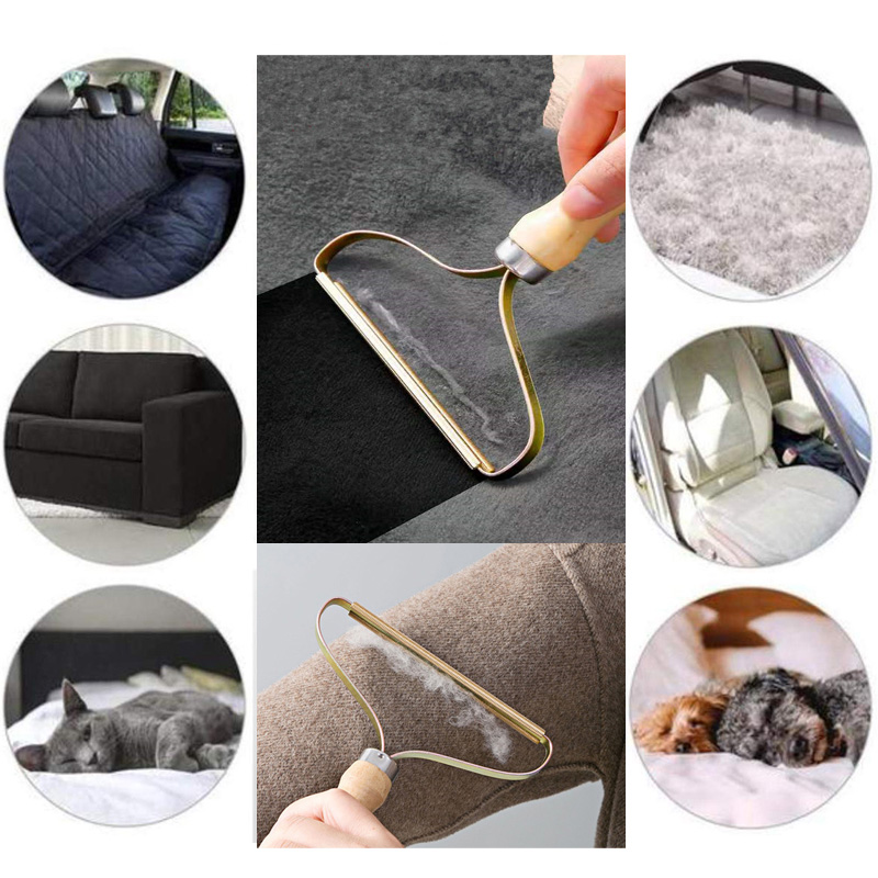 Power-Free Fuzz Fabric Shaver Portable Lint Remover Fluff Removing Roller Clothes Sweater Woven Coat Household Cleaning Tools