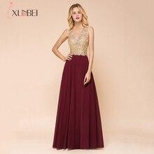 Robe De Soiree Longue 2020 Neuheiten Lange Spitze Abendkleider V ausschnitt Zipper Kleid Abendkleider Echt Fotos