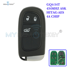Remtekey Smart Key for Dodge chrysler Jeep cherokee 2014 2015 2016 2017 3 Buttons Keyless Entry 434MHz GQ4-54T 4A chip
