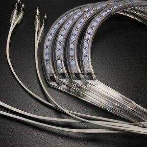 Image 5 - HochiTech per BMW E36 E38 E39 E46 proiettore Ultra luminoso SMD LED white angel occhi 2600LM 12V halo anello kit di luce luce di marcia diurna 131mmx4