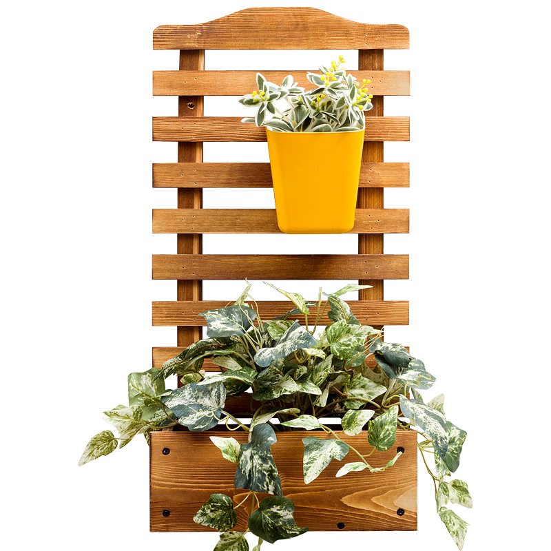 Hanging Showy Real Wood Floor Indoor Multilayer Pot Sitting Room Balcony, Fleshy Specials Province Space
