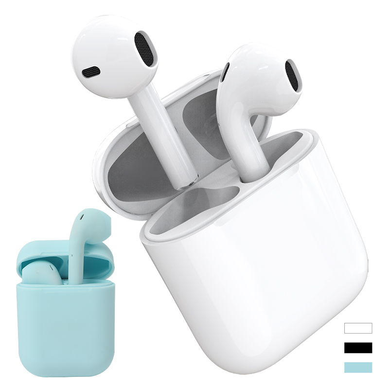 i20Pro TWS <font><b>Wireless</b></font> <font><b>Sports</b></font> <font><b>Earphones</b></font> Bluetooth 5.0 Headset Portable Invisible Earbuds for Smart Phone i20 image