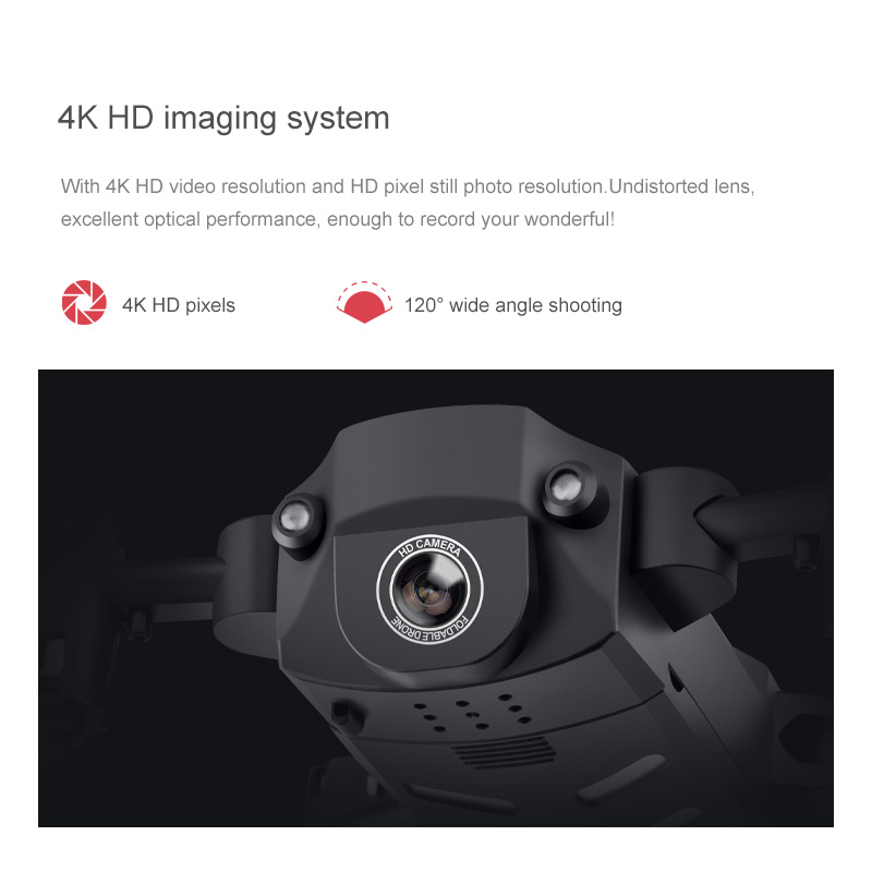 KK8 RC Mini Drone 4K Professional With HD Camera One Key Return FPV Wifi Drone Super Long Endurance Aircraft Fold Quadcopter Toy 4