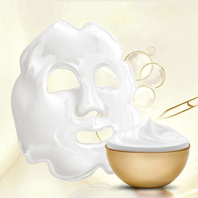 Anti Wrinkle Magical Egg Sleeping Mask Facial Yeast Eggshell Peel Off Mask Cream Hydrating Repair Face korean Skin Care Masks 1