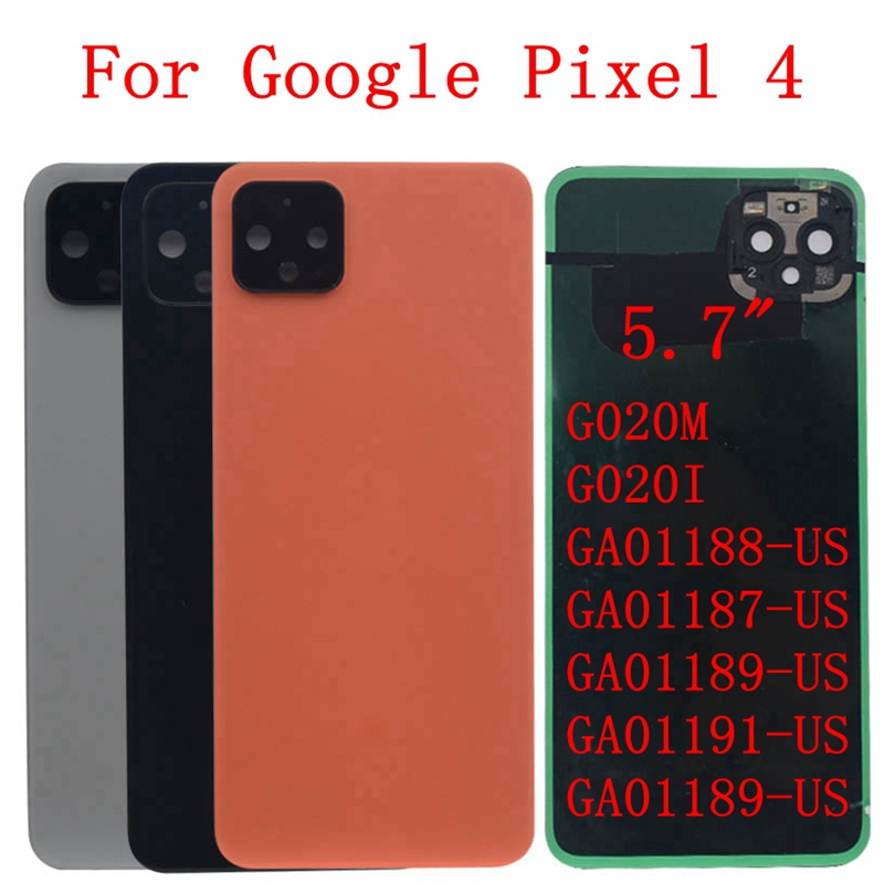 Original Pixel 4 4XL Back Cover Glass