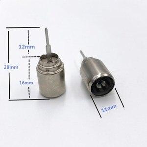 10 шт., металлический коаксиальный радиочастотный адаптер DVB-T TV PAL