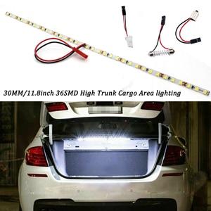 KAMMURI 36-SMD-2835 T10 W5W 12V LED light strip for car trunk cargo area or indoor lighting 6000 K xénon blanc/blue/ice blue