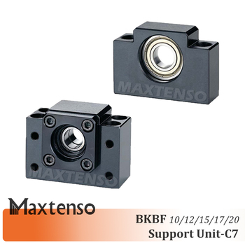 MAXTENSO Support Unit Set Professional BK10 BK12 BK15 BK17 BK20 and BF10 BF12 BF15 BF17 BF20 for ball screw BKBF one set CNC