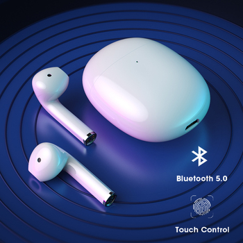 Niye-auriculares TWS, inalámbricos por Bluetooth 5,0, auriculares manos libres con Control táctil y funda de carga para Xiaomi, Huawei
