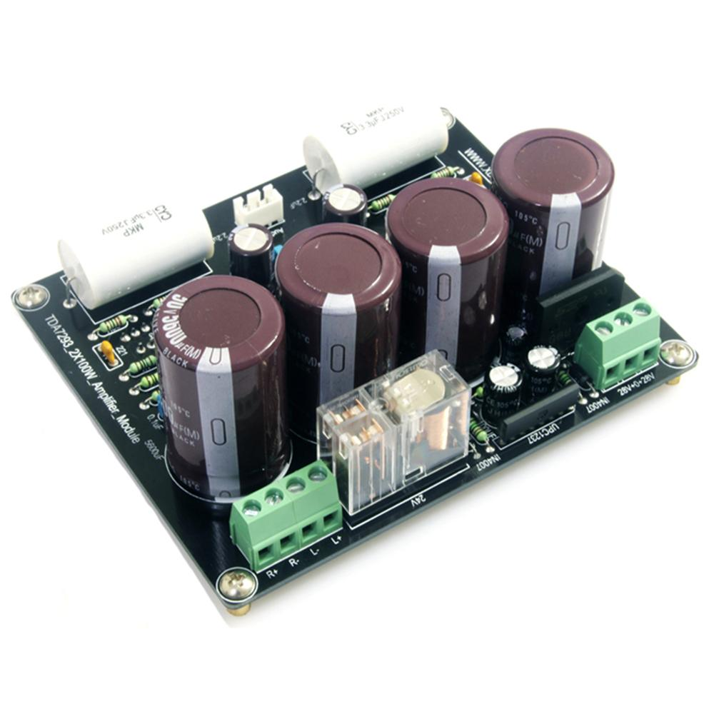TDA7293 100W+100W Two Channel Current Feedback Type Power Amplifier Board