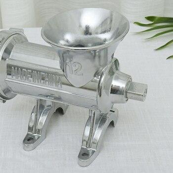 Manual Multi Meat Grinder Mincer Sausage Filler Chopper Pasta Maker Table for Home TUE88