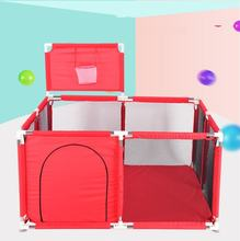 Baby Playpen For Children Pool Balls For Newborn Baby Fence Playpen For Baby Pool Children Playpen Kids Safety Barrier baby playpen kids fence playpen plastic baby safety fence pool 6 months like this have space for an actual playroom