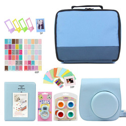 Storage bag for Fujifilm Instax Mini 9 Instant Camera Photo Camera+7 in 1 Kit Video Bag Case Protector Filter+Album+Sticker