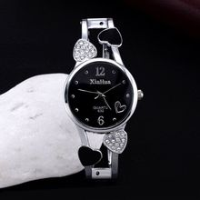 цена на Ladies Quartz Bracelet Wrist Watch Simple Casual Diamond High Hardness Glass Mirror Stainless Steel Watch Alloy Strap Watch
