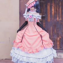 Anime Black Butler Ciel Phantomhive Cosplay Kleid Kuroshitsuji Frauen Dame Lolita Maid Kleider Uniform Cosplay Kostüme(China)