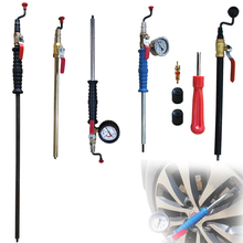 Tire quick inflation stick pneumatic stick and trolley watch inflation stick tire inflation watch vehicle maintenance tool