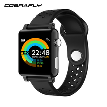 Cobrafly ecg ppg smart watch men women band health bracelet blood pressure measurement smarthwatch fitness tracker