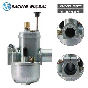 Image 1 - ALCON For Puch zundapp TUNTURI MUSTANG BING Vergaser SRE 1/15/46A Carburetor 15mm Bing Carburetor Racing Motorcycle